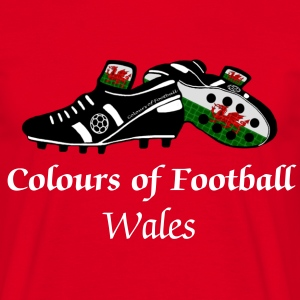 Colours of Fooball Wales - Classic Tee - Men's T-Shirt