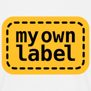 My own Lable | Marke | Etikett T-Shirts - T-skjorte for menn