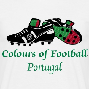 Portugal football world soccer t-shirts - Men's T-Shirt