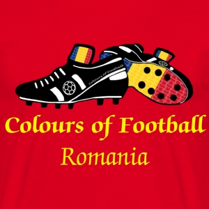Romania football world soccer t-shirts - Men's T-Shirt