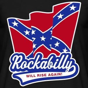 Rockabilly will rise again! T-Shirt - Männer T-Shirt