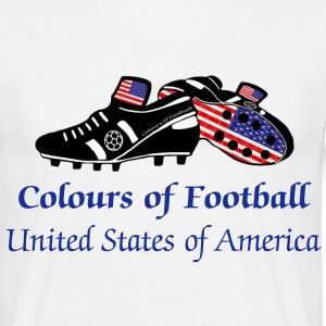 United States America soccer world t-shirts - Men's T-Shirt