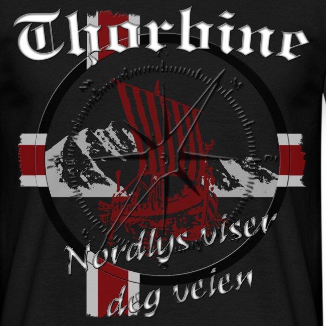 """Männer T-Shirt """"Polarlicht"""""""