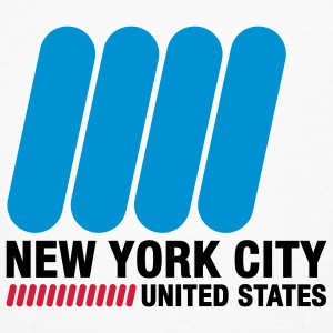 New York City (3c)++ T-shirt - T-shirt ecologica da uomo