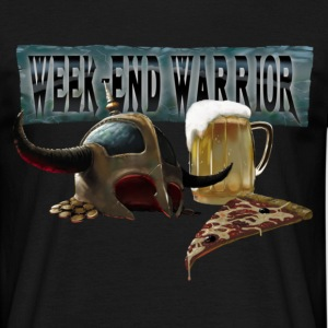 Week end warrior black - T-shirt Homme