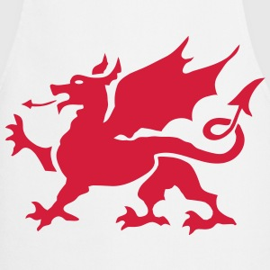 Welsh Dragon Apron - Cooking Apron