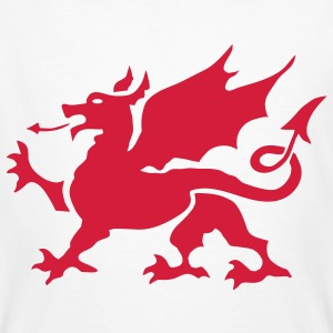 Welsh Dragon - Men's Organic T-shirt
