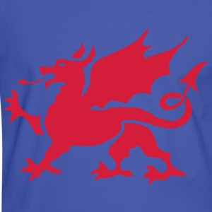 Welsh Dragon - Men's Ringer Shirt