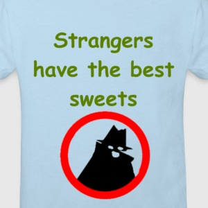 Strangers Have The Best Sweets Kids' Shirts - Kids' Organic T-shirt