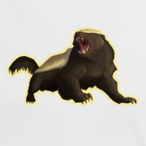 Honey Badger T-Shirts - Women's Ringer T-Shirt