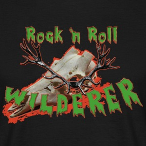 Rock´n Roll Wilderer Shirt - Männer T-Shirt