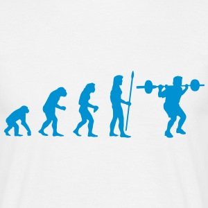 evolution_bodybuilding1 T-Shirts - Männer T-Shirt