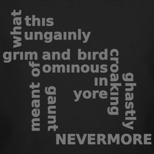 Typo Shirt - Poe: The Raven T-shirts - Organic mænd