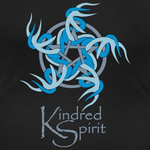 Kindred Spirit Symbol with Words T-Shirts - Women's Scoop Neck T-Shirt