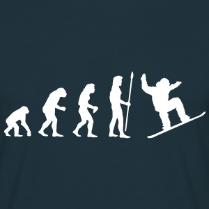 evolution_snowboard T-shirts - T-shirt Homme