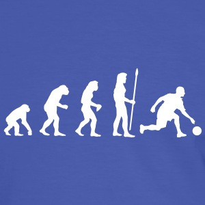 evolution_bowling1 T-shirts - T-shirt contraste Homme