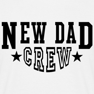 NDC New Dad Crew 2Star T-Shirt BW - Men's T-Shirt