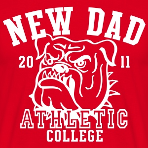 NDC New Dad Athletic College Shirt WR - Men's T-Shirt