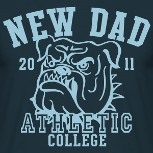 NDC New Dad Athletic College Shirt HN - Men's T-Shirt