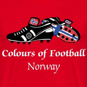 norway_colours_of_football T-Shirts - Men's T-Shirt