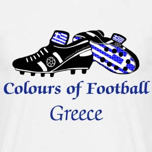 greece_colours_of_football T-Shirts - Men's T-Shirt