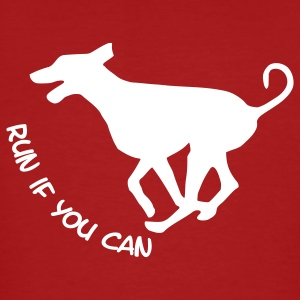Run if you can - Männer Bio-T-Shirt