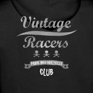 Motif ~ Motorcycles Club Hoodie  Black