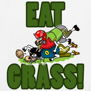 EAT GRASS Bags  - EarthPositive Tote Bag