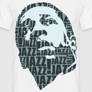 Jazz only grey - Men's T-Shirt