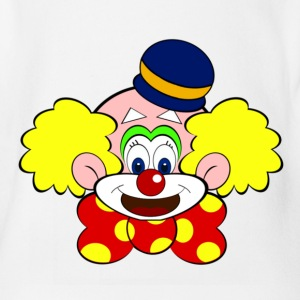 Clown T-Shirts - Baby Bio-Kurzarm-Body