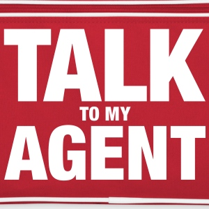Talk To My Agent - Retro Tasche