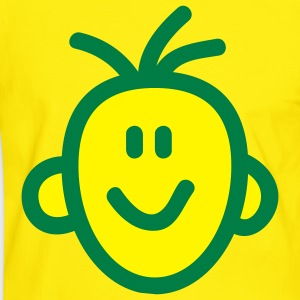 smiley_face_2c T-shirts - Mannen contrastshirt