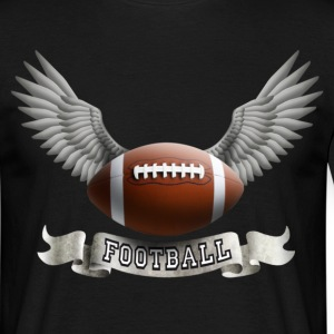 football_wings_a T-shirts - T-shirt Homme
