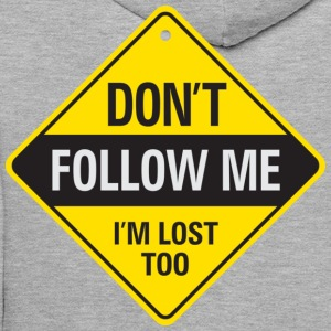 Dont Follow Me 1 (dd)++ Gensere - Premium hettegenser for menn