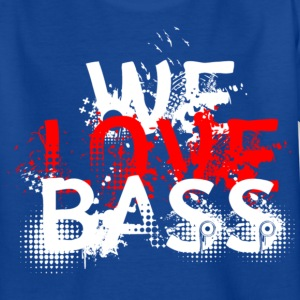 welovebass01 Kinder T-Shirts - Teenager T-Shirt