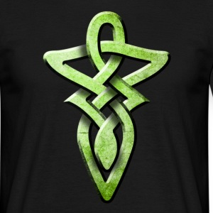 tribal_knot_green T-shirts - T-shirt Homme