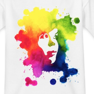 Ink Portrait Kids' Shirts - Teenage T-shirt