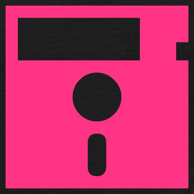 Floppy Disk pink (8-bit Guerrilla)