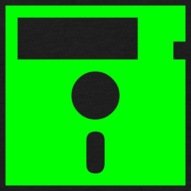 Floppy Disk Monster Green (8-bit Guerrilla)