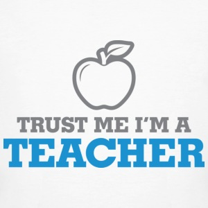 Trust Me Teacher 2 (dd)++ T-shirts - Mannen Bio-T-shirt