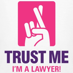 Trust Me Lawyer 1 (dd)++ T-Shirts - Men's Organic T-shirt