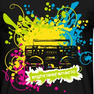 Ghettoblaster Splash 1 - Männer T-Shirt