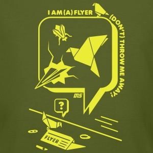 I am (a) Flyer (klimaneutral) - Männer Bio-T-Shirt