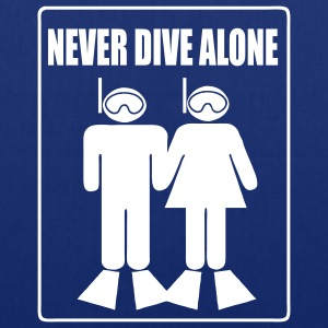 Never Dive Alone Bags  - Tote Bag