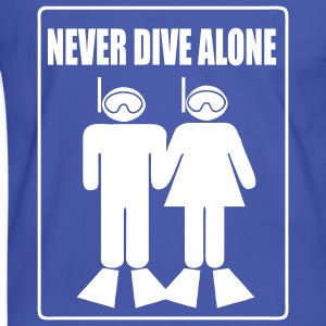 Never Dive Alone T-shirts - T-shirt contraste Homme