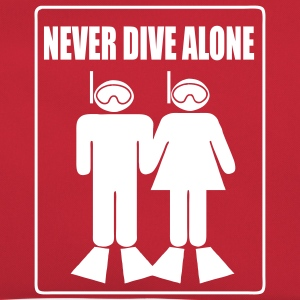 Never Dive Alone Sacs - Sac Retro