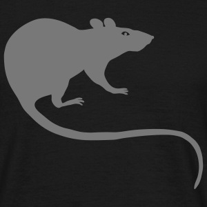 shirt rat rats duo ratty mouse mice animal - Men's T-Shirt