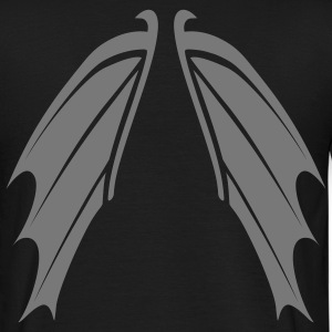 shirt bat wings vampire night helloween - Men's T-Shirt
