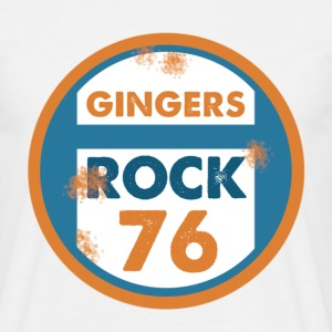 Gingers Rock T-Shirts - Men's T-Shirt