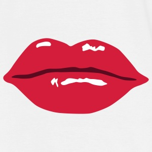 Lips Mouth Kiss - Men's T-Shirt